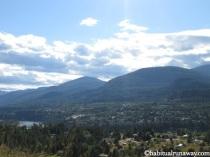 Overlooking Slocan Valley