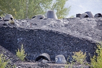 Slag Pots in Greenwood