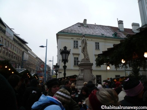 Crowded Market Vienna