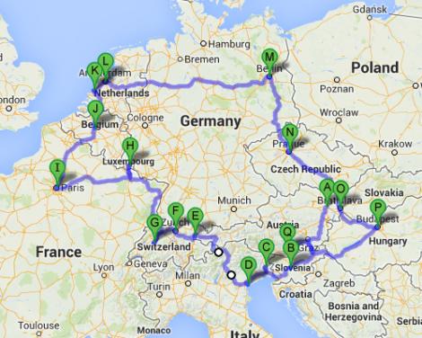 EU Winter Tour