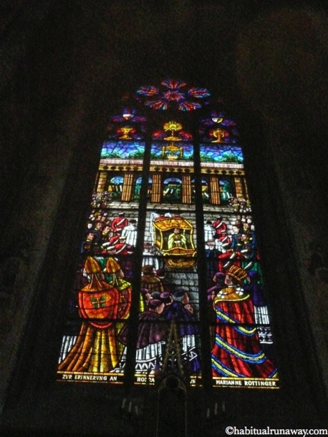Royal Stained Glass Votivkirche Vienna