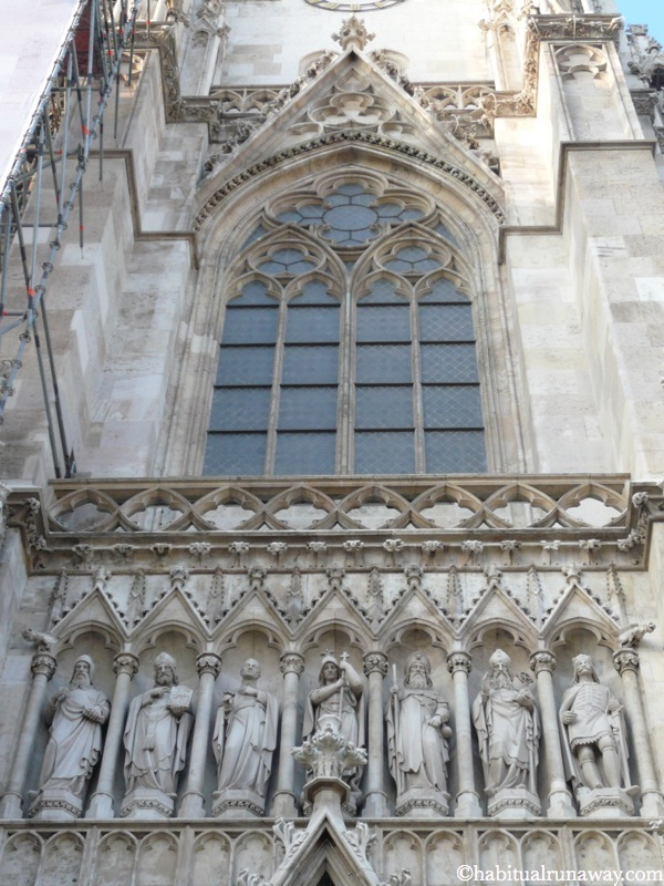 Statues On The Votivkirche