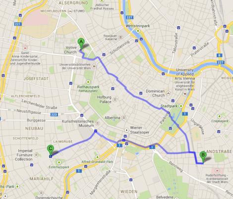 Touring Vienna