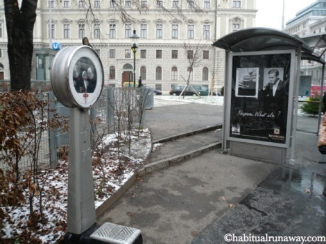 Vienna Bus Stop Weigh Scale