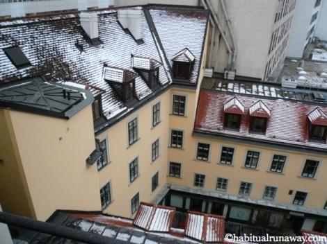Vienna Snowy View