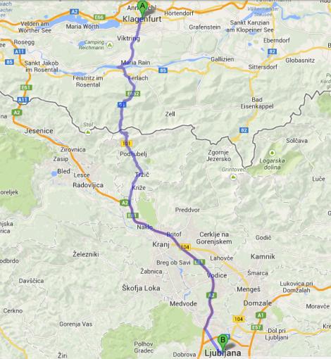 Austria to Slovenia