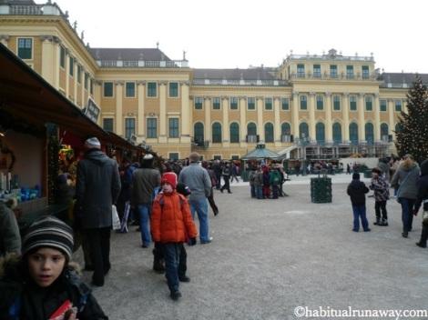 Christmas Market Schonbrunn Vienna