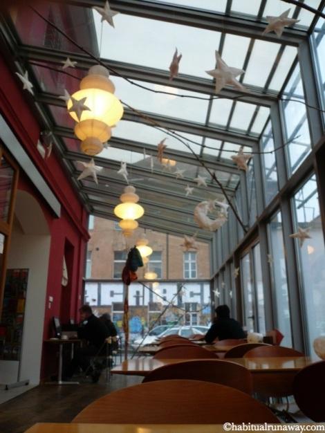 Dining Area Celica Hostel
