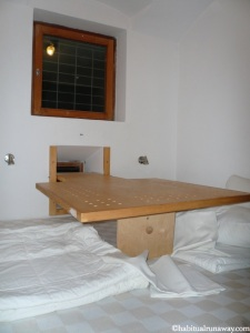 Inside Prison Room Celica Hostel