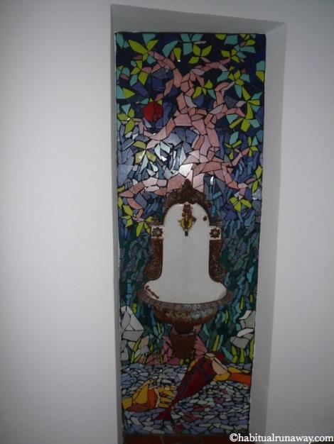 Mosaic Water Fountain Celica