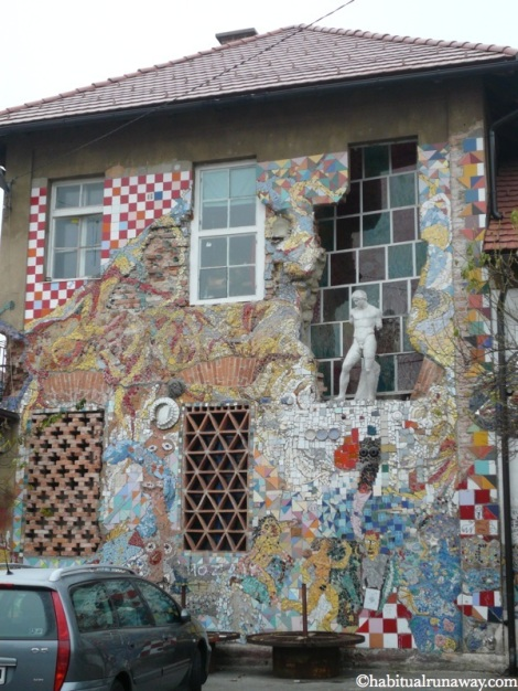 Shelling Damage Mosaic Metelkova