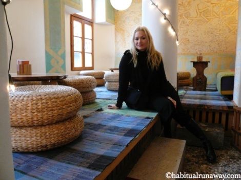 Sitting Area In Celica Hostel
