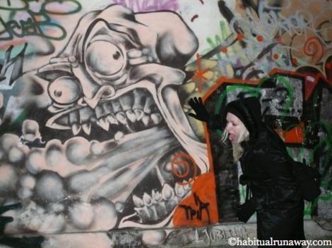 Vomit Graffiti Ljubljana