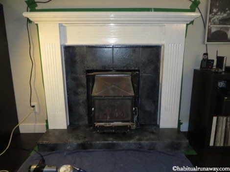 Fireplace During