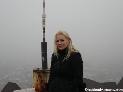 Ana From Canada In Ljubljana