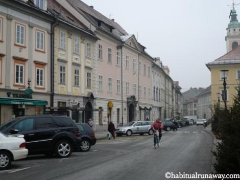 Cycling Ljubljana