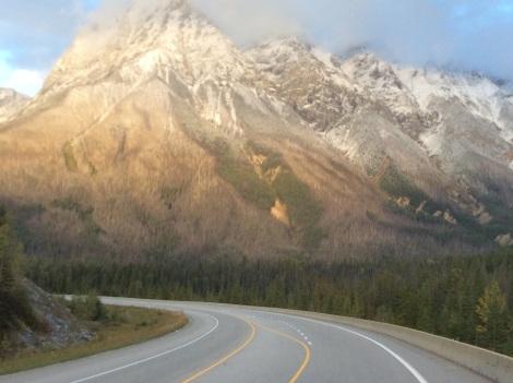 Toward Snowy Alberta