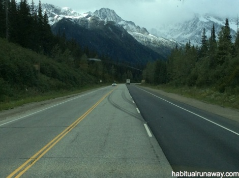 Snowy Mountaintops BC