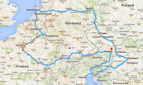Mobbin EU Tour