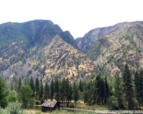 BC HWY 3 Cabin near Keremeos